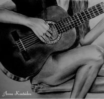 Spanish Guitar by annakoutsidou
