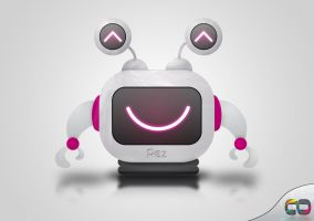 Pez the bot by CanorousDesign