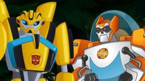 Bumblebee and Blades together, forever by 20bumblebee