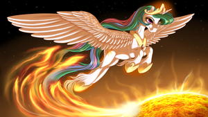 Solar Flare by KittehKatBar