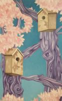 Birdhouse Haven by EmilyParnell