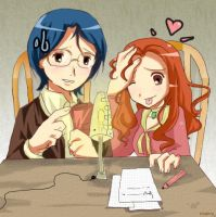 Studying by mixy-shiru by joumimi