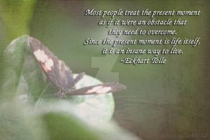 Present Moment Tolle by kelleejm1