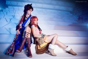 Final Fantasy XIII OTP: Fang and Vanille by ElenaLeetah