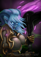 Exarch Yrel by CoffehMeh