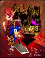 Sonic and the black knight by defiaz