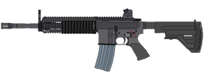HK 416 by MaxVice
