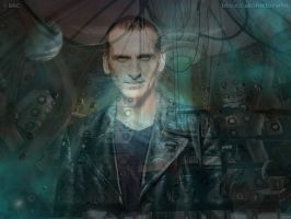 Ninth Doctor Wallpaper Manip by spiritofthebeast