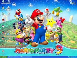 Mario Party 9 Desktop Screenshot 2 by xFlowerstarx