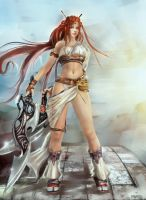Nariko - HEAVENLY SWORD by Glluengo