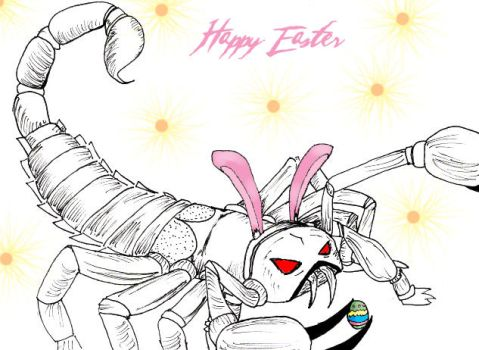 The Easter Scorpion by Arricia-sama