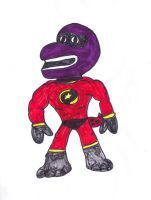 The Incredible barney by SonicClone