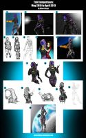 Tali Comparisons (May 2010 to April 2013) by oliverkrings