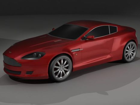 Aston Martin DB9 Coupe WIP 2 by heretik66