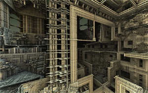 Ruins From the Industrial Revolution by moonhigh