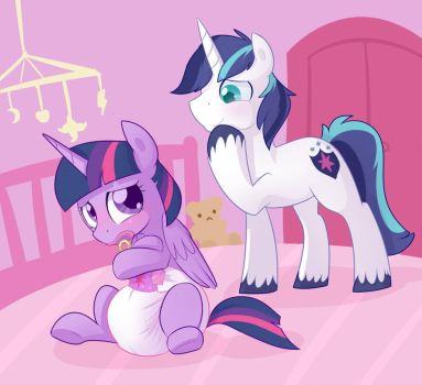 Little Sister Big Baby Forever by Hourglass-Sands