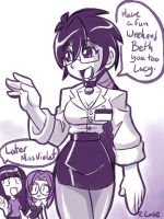 MissViolet Violet doodle by rongs1234