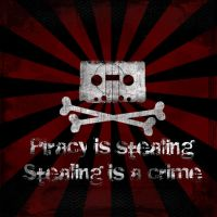 Piracy is Bad by Menko-Design