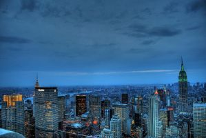 Midtown Manhattan by JWalkerimages