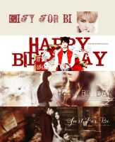 Pack Gift - Happy Birthday to BI - JUST FOR BI by BPigVness