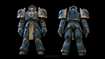 Captain Arvas Invistus  Front and back render by Avitus12