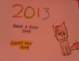 Happy New Year 2013 by Supercurlyninja