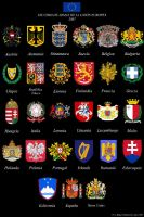 Coats of Arms of the EU by Hilezkor34