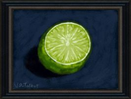 DSi Art Academy: The Lime by VATalbot