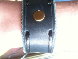 Leather Bracelet by ettiennenavarre
