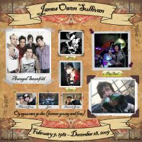 James Sullivan Scrapbook by EmmaL27