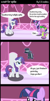 a suit for spike by Coltsteelstallion