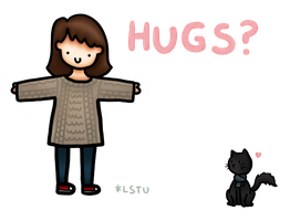 Hugs, anyone? by LetsSaveTheUniverse