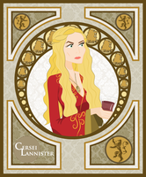 Cersei Lannister by smallsqueaktoy