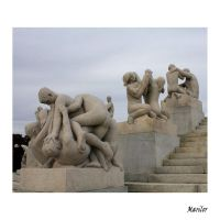 Vigeland Sculpture Park by Marilor