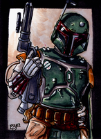 Boba The Fett, Commission by Jace-Mereel