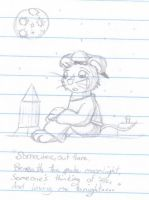 Sad and Lonely Fievel by MistyKoopa