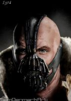 Bane Close-Up by SamDenmarkArt