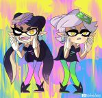 Squid Sisters by Nintenderp23