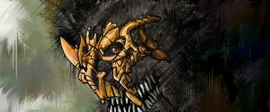 Something behind Mask by Tyffo