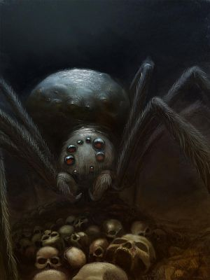 Monstrous_spider_by_ortheza.jpg