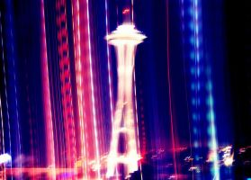 Flashy Needle at Night by TankGirl86