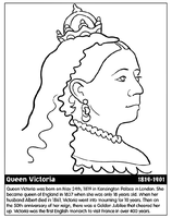 Queen Victoria by Writer-Colorer