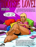 Get Tootsie Love #1 Pin-up by MTJpub
