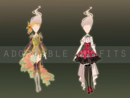 (Closed) Costumes design adoptables - Auction 3 by fantazyme