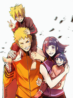 The Uzumaki Family by AgentWhiteHawk