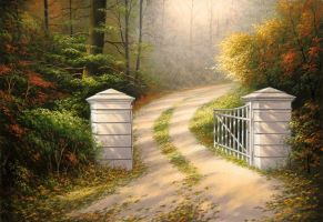 White Gate by uvar