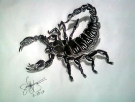 scorpion by HalimawNgaEh