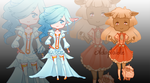 Adoptable Auction: Elf n Sheep [CLOSED] by Moniica-chan
