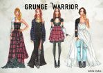 Grunge Warrior by nabilaclydea