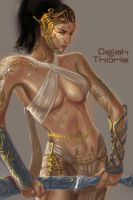 DEJAH THORIS Concept speedpaint by rocketraygun